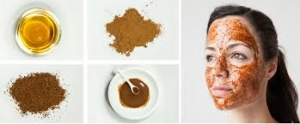ماسك القرفة والعسل لإزالة آثار الحبوب