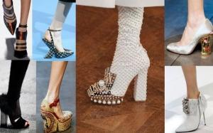 تألقي في إطلالاتك مع أحذية الكعب الهندسي التي تزيدك أناقة مميزة