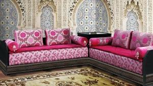 الصالون المغربي التقليدي جمالية مميزة تزيد المنزل أناقة