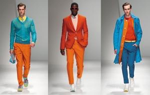لمسة البرتقالي تميز بقوة صيحات الموضة الرجالية لربيع 2017