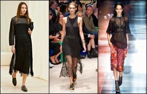 الأقمشة المشبكة تعود بقوة لتتربع على عرش موضة أزياء الربيع لموسم 2017