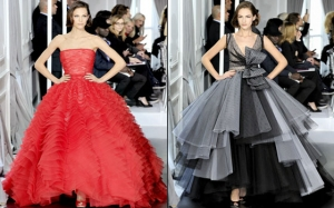 جمالية الفستان المنفوش تتألق من جديد في عروض الأزياء الربيعية