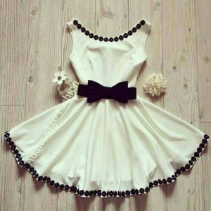 بالصور| باقة من أجمل الفساتين القصيرة لإطلالة أنوثية ساحرة