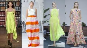 تألقي بأبرز صيحات الموضة الربيعية على طريقة عارضات الأزياء