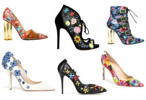 اختاري أناقتك الربيعية مع الأحذية العصرية بنقوش ملونة