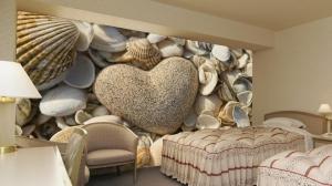 امنحي منزلك جاذبية راقية مع لمسة ورق الحائط الجديدة والعصرية