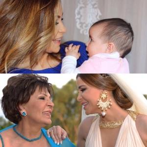 بمناسبة عيد الأم.. صور نادرة للنجوم مع أمهاتهم