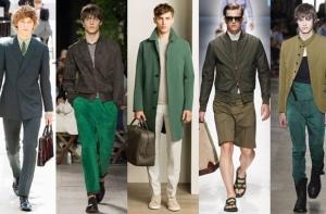 جمالية الأخضر تميز ملابس الرجال الخاصة بموسم ربيع 2017