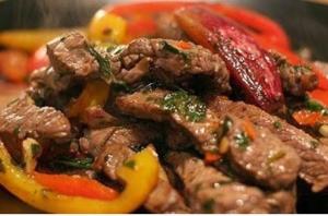 شرائح اللحم بالتتبيلة التركية