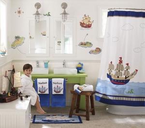 امنحي أطفالك حماما راقيا منعشا ومميزا باعتماد هذه الأفكار