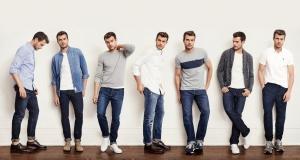 أناقة الجينز في ملابس الربيع الخاصة بالرجال