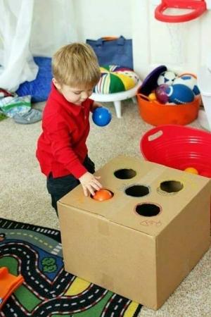أفكار مسلية لألعاب طفلك
