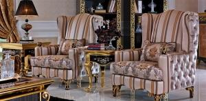 لمسة من الكراسي الكلاسيكية تمنح رونقا وجمالية لزوايا المنزل