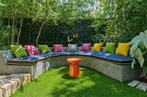 اجعلي حديقة منزلك فضاء مميزا للجلسات الربيعية