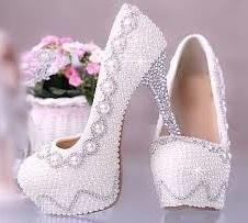 أرقى أحذية الزفاف 2017
