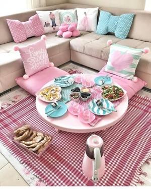بالصور| تصميمات رائعة باللون الروز لديكور منزلك