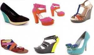 امزجي الألوان الزاهية لتحصلي على إطلالة مميزة مع أحذية الصيف 2017