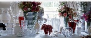 مزهريات الكريستال جمالية تضفي الرونق على ديكور المنزل