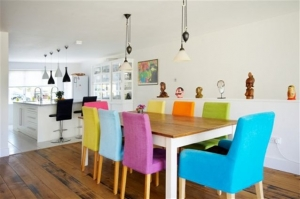 اجعلي غرفة الطعام مفعمة بالحيوية والنشاط باعتماد الألوان المنعشة