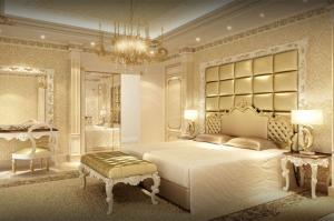 اجعلي غرفة نومك راقية وأنيقة بجمالية اللون الذهبي