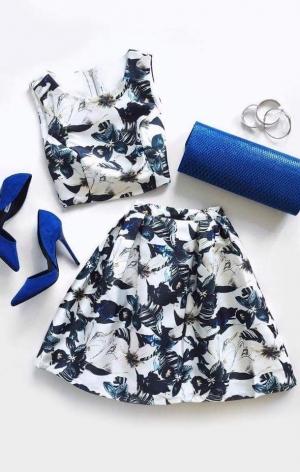 بالصور| ارتدي الفستان المكون من قطعتين لإطلالة جريئة
