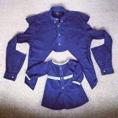 بالصور| حوِّلي قميصك القديم لفستان لطفلتك الصغيرة