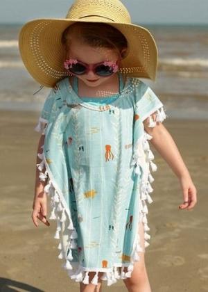 بالصور| ملابس مناسبة لطفلتك علي الشاطئ