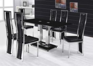 الأسود الملكي لمسة تعطي طاولة السفرة رونقا خاصا