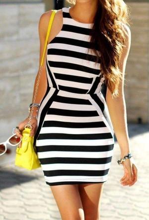 بالصور| الفساتين المقلمة لإطلالة مختلفة ومميزة