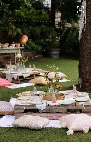 اجعلي حديقة المنزل مميزة لتناول الإفطار في رمضان