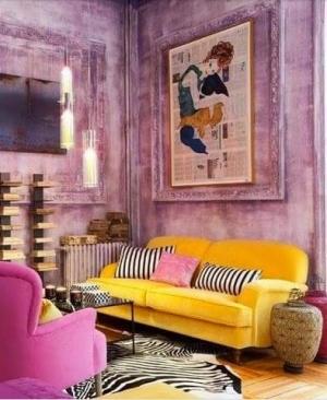بالصور  ديكورات باللون الاصفر لمنزل مميز ومبهج