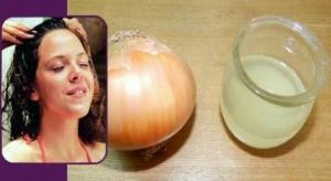 عصير البصل للتخلص من الشعر الأبيض نهائيا