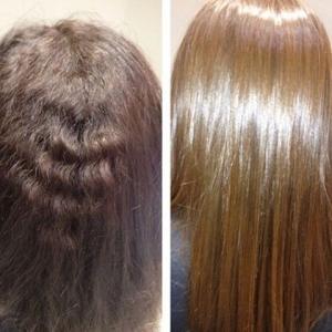 وصفة هائلة تجعل شعرك ناعما ولامعا من أول استعمال