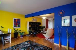 التنوع في الدهان يجعل جدران المنزل مميزة وبلمسة منعشة