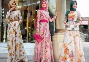 تميزي بنعومة في حجابك مع هذه الفساتين الجذابة والراقية للصيف