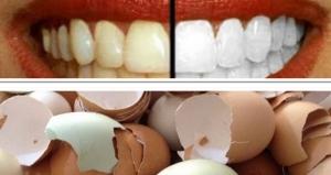 استخدمي قشور البيض لتبيض الأسنان في 5 دقائق