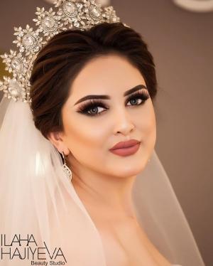 بالصور : إطلالات مميزة لتساريح و مكياج للعرائس