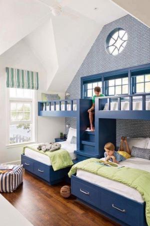 أفكار مختلفة لغرف نوم الأطفال.. جربيها