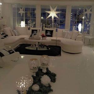 جمالية اللون الأبيض في الديكور تزيد من أناقة منزلك