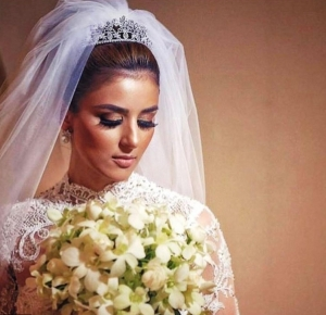 بالصور|أجمل طرحات العروس موضة 2017