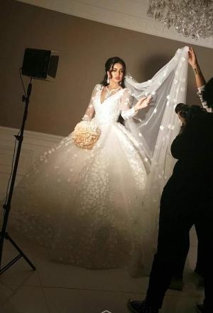 اختاري واحداً من هذه الفساتين لإطلالة ملكية يوم زفافك