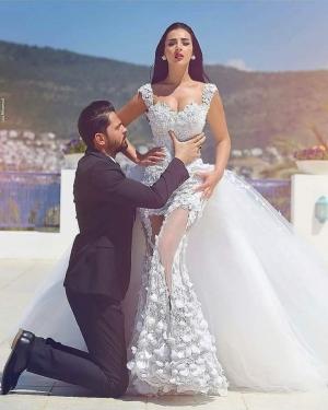 بالصور  فساتين زفاف مبهرة لعروس شهر أكتوبر