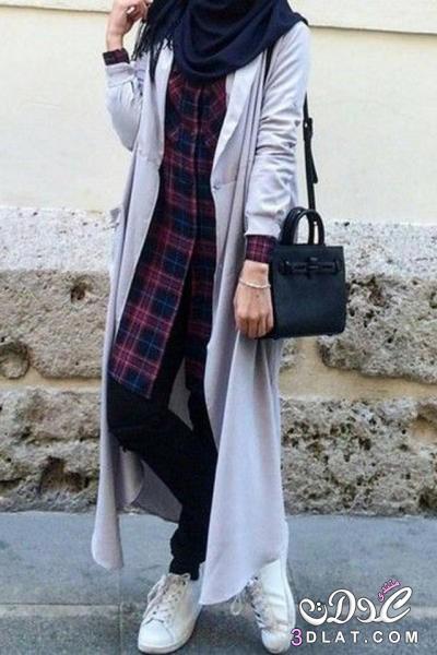 a38ba3164 بالصور| موضة ملابس المحجبات لصيف 2017 - مجلة المرأة العربية