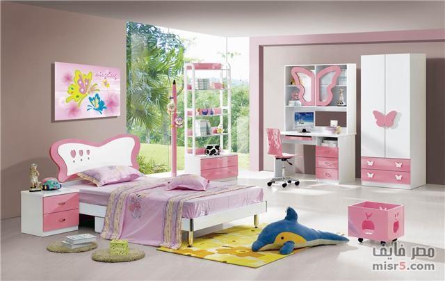 صور احدث موديلات غرف نوم الاطفال   مجلة المرأة العربية
