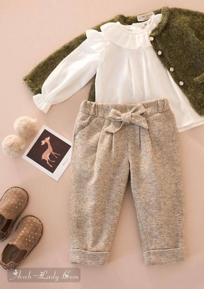 تنسيق ملابس اطفال صغار _2019